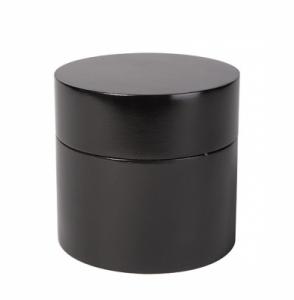 Czarny pojemnik na waciki Tiger Toshi